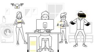Animasjonsvideo om Get Docsis